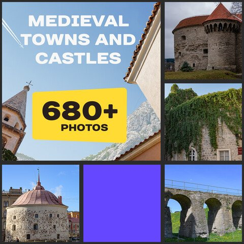 Medieval Castles And Оld European Сities (Extended Licence) 40%OFF