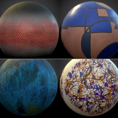 Abstract Art Generators