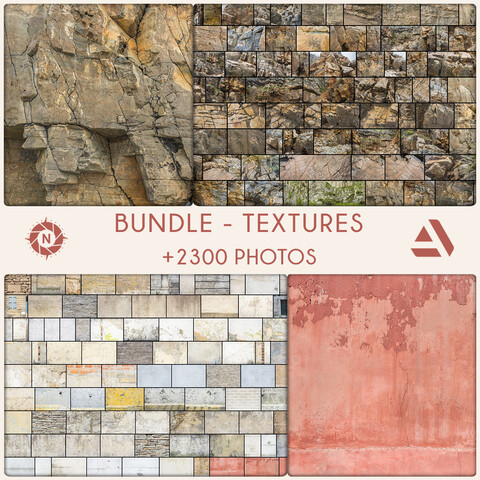 Bundle: Texture Reference Photos - Personal License