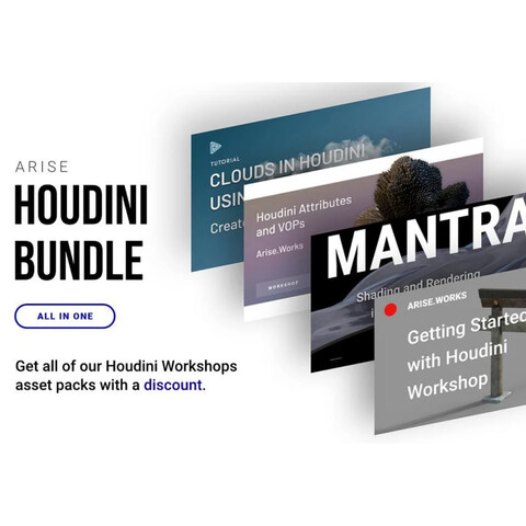 Houdini Foundations Tutorial Bundle: All In One