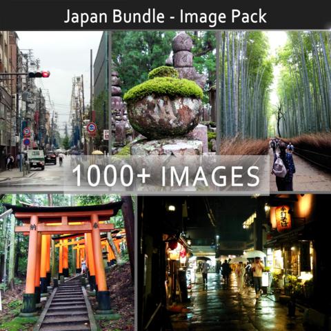 Japan Bundle - Image Reference Pack (1000+) - Studio License