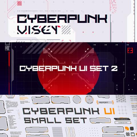 CyberPunk UI Bundle