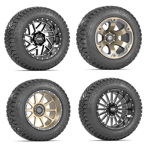 OFF ROAD WHEEL AND TIRE COLLECTION 1