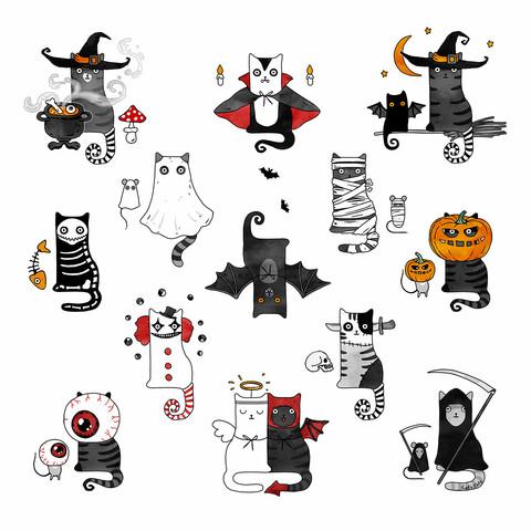Horror Cats