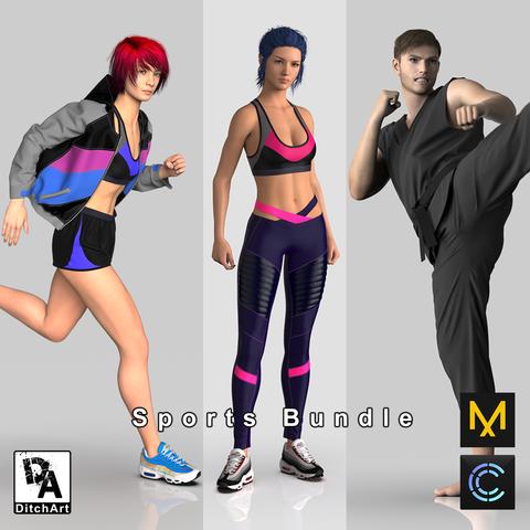 Sports Clothing Bundle