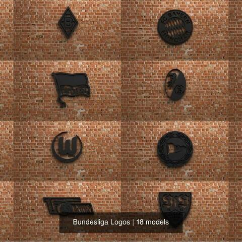 Bundesliga Logos Collection