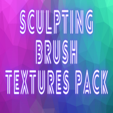 Sculpting Brush Textures Packs 1 & 2 Bundle