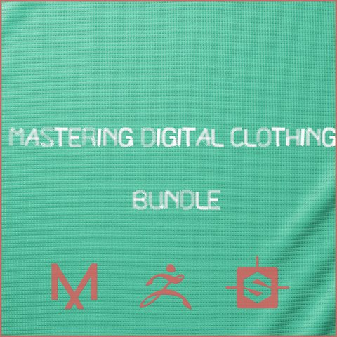 Mastering Digital Clothing Bundle