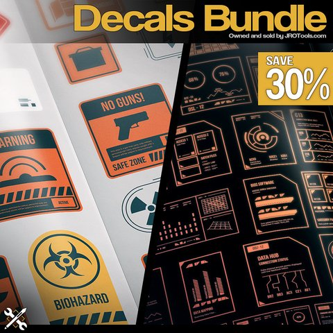 JROTools - Decals Bundle [Single User License]