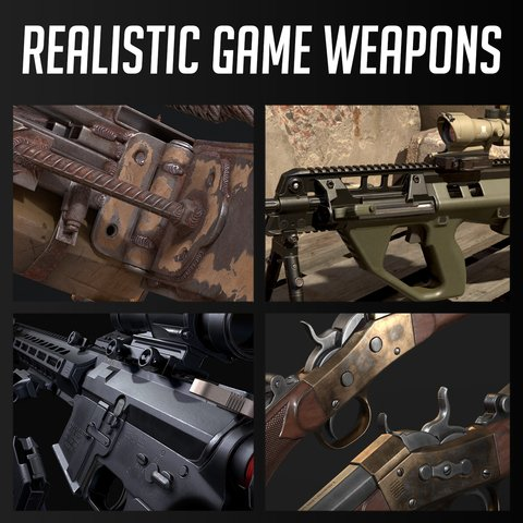 Realistic Game Weapons