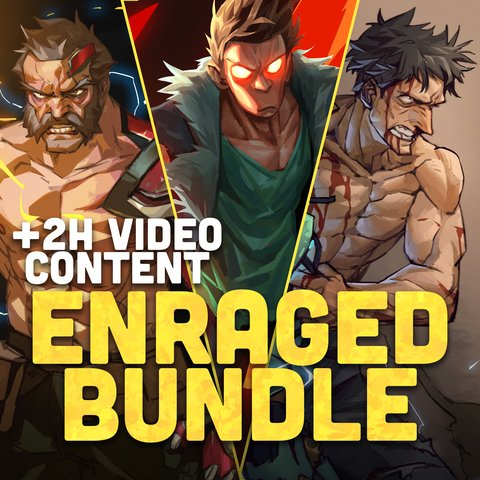 +50MIN NARRATED TUTORIAL CONTENT - ENRAGED BUNDLE