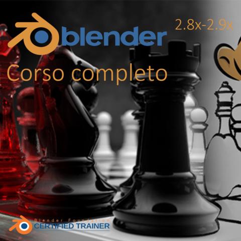 BLENDER 2.8x-2.9x PER TUTTI - CORSO COMPLETO (Italiano)
