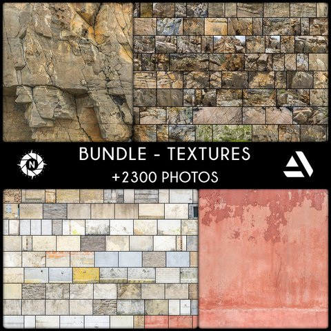 Bundle: Texture Reference Photos - Company License