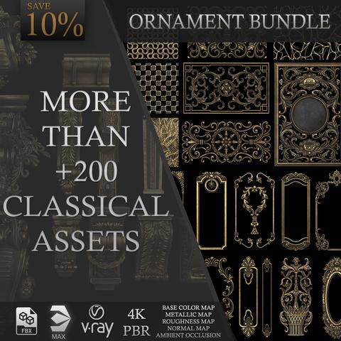 Vol 4 More than+200 Classical Ornaments