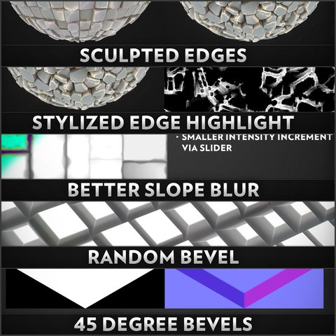 Substance Designer Utilities Pack 01 - Indie/Small Business License