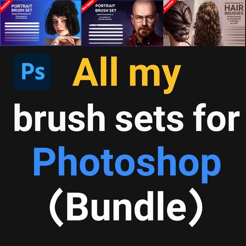 All my brush set for Photoshop (Bundle) - Standard License