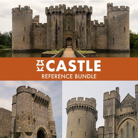 Castle Photo Reference Bundle - Extended License