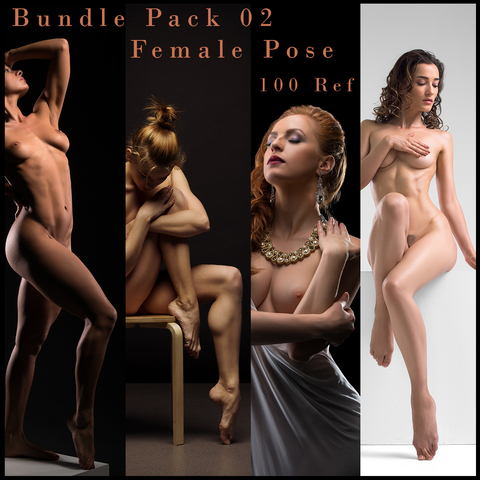 Female Pose Reference - Bundle Pack 02