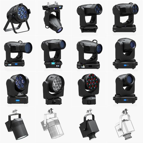 Stage Lighting Collection - 14 PCS
