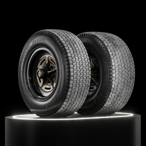 Dunlop CR65 (R7) 600L Vintage • 224 & 271 R15 (Real World Details)