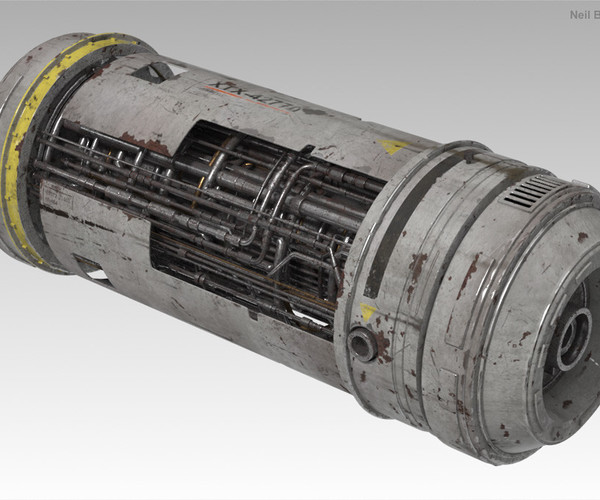 Shading A Hard Surface Model 2015: Texturing A Scifi Power Cell Video Tutorial