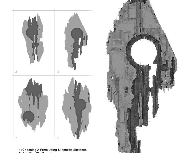 Designing An Epic Starship (Parts 1, 2 and 3)