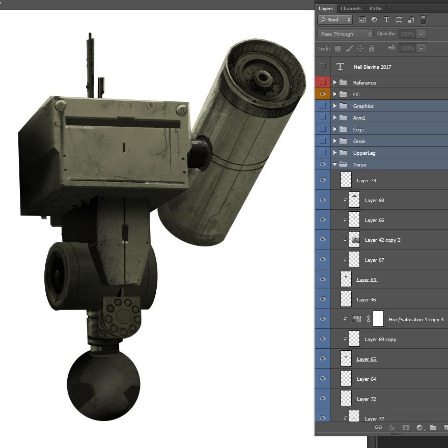 Painting robot design