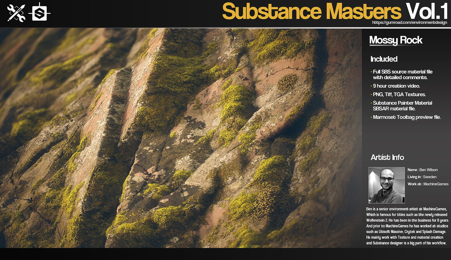 JROTools - Tools for 3D artists - Substance Masters Vol 1