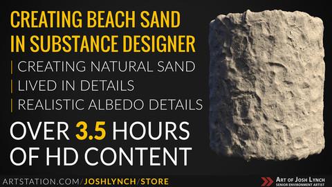 Creating Beach Sand In Substance Designer