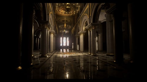 Palace interior - Unreal Engine Pack
