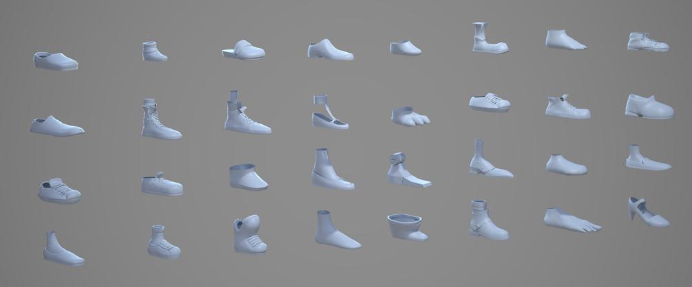 Shoes assets