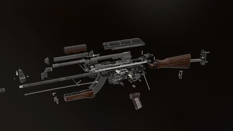 akm - Kalashnikov rifle - Ultimate pack akm