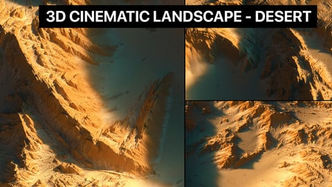 3D Cinematic Landscape - Desert
