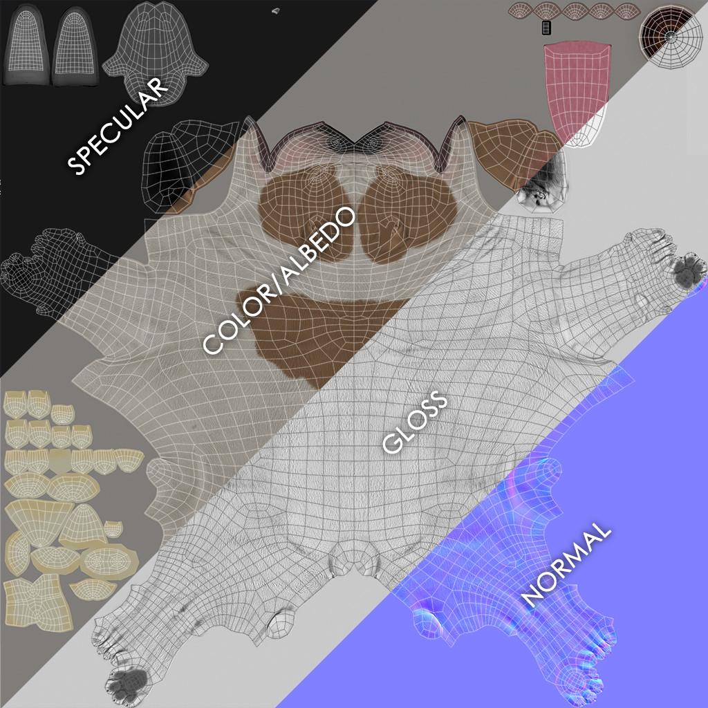 Frenchbulldog maps breakdown