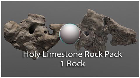 Holy Limestone Rock Scan 10