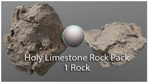 Holy Limestone Rock Scan 4
