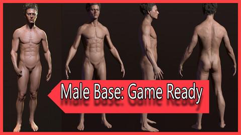 Male Basemesh - Game Ready