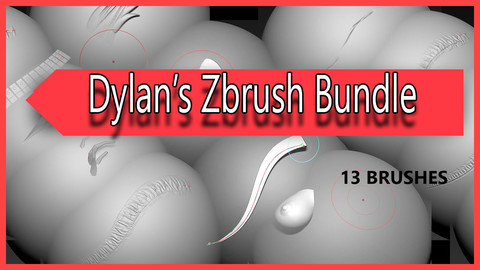 Dylan's Zbrush Pack