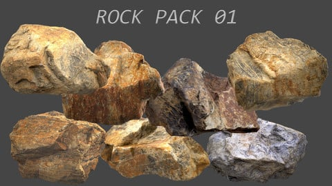 Rock Pack 01