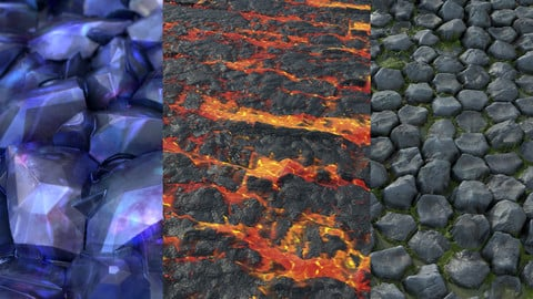 Substance Texture Pack - 1