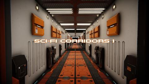 Sci-Fi Corridors I for the Unity engine