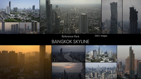 Bangkok Skyline - Reference Pack