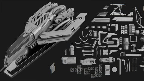 Hard Surface Kitbash Workshop