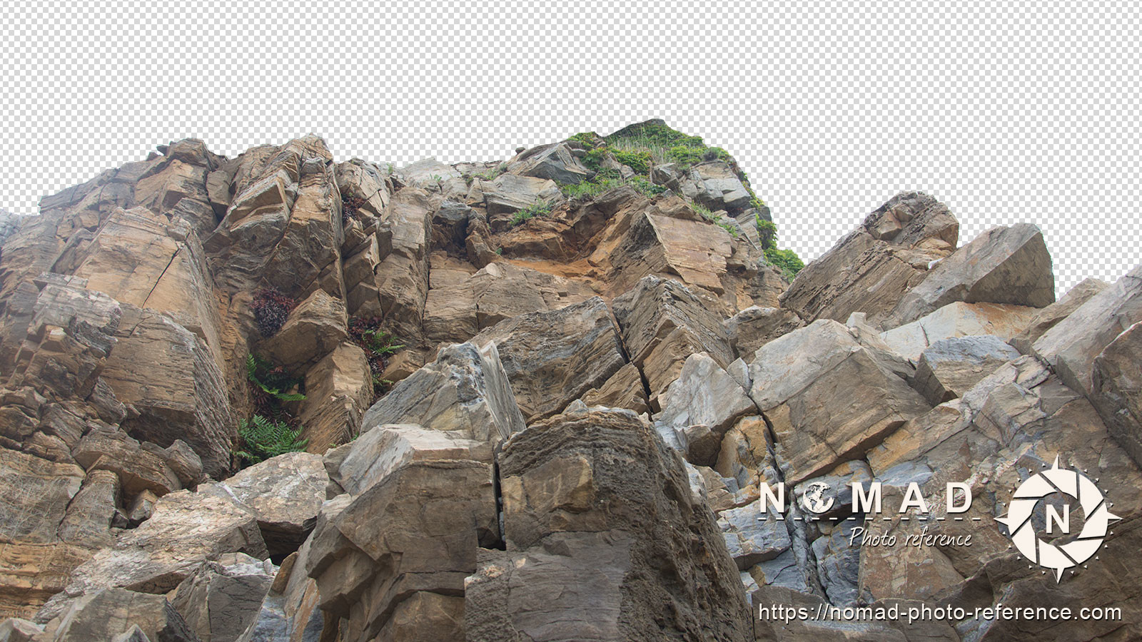 Png cutout photo pack rocks cliff 14