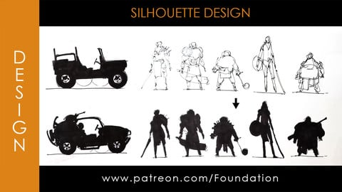 Foundation Art Group - Silhouette Design