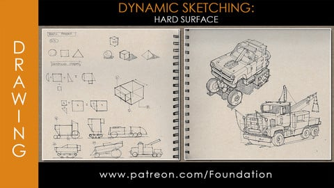 Foundation Art Group - Dynamic Sketching: Hard Surface