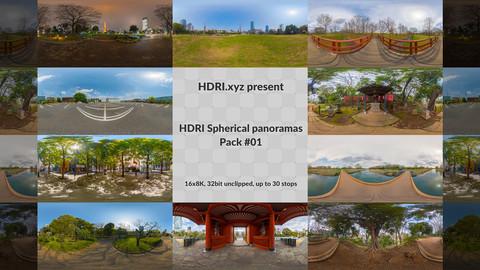 16K 32bit HDRI Spherical Panoramas Pack #01 (Japan)