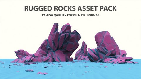 Rugged Rocks Asset Pack