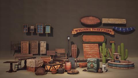 Wild West Props : Project SKYTERN