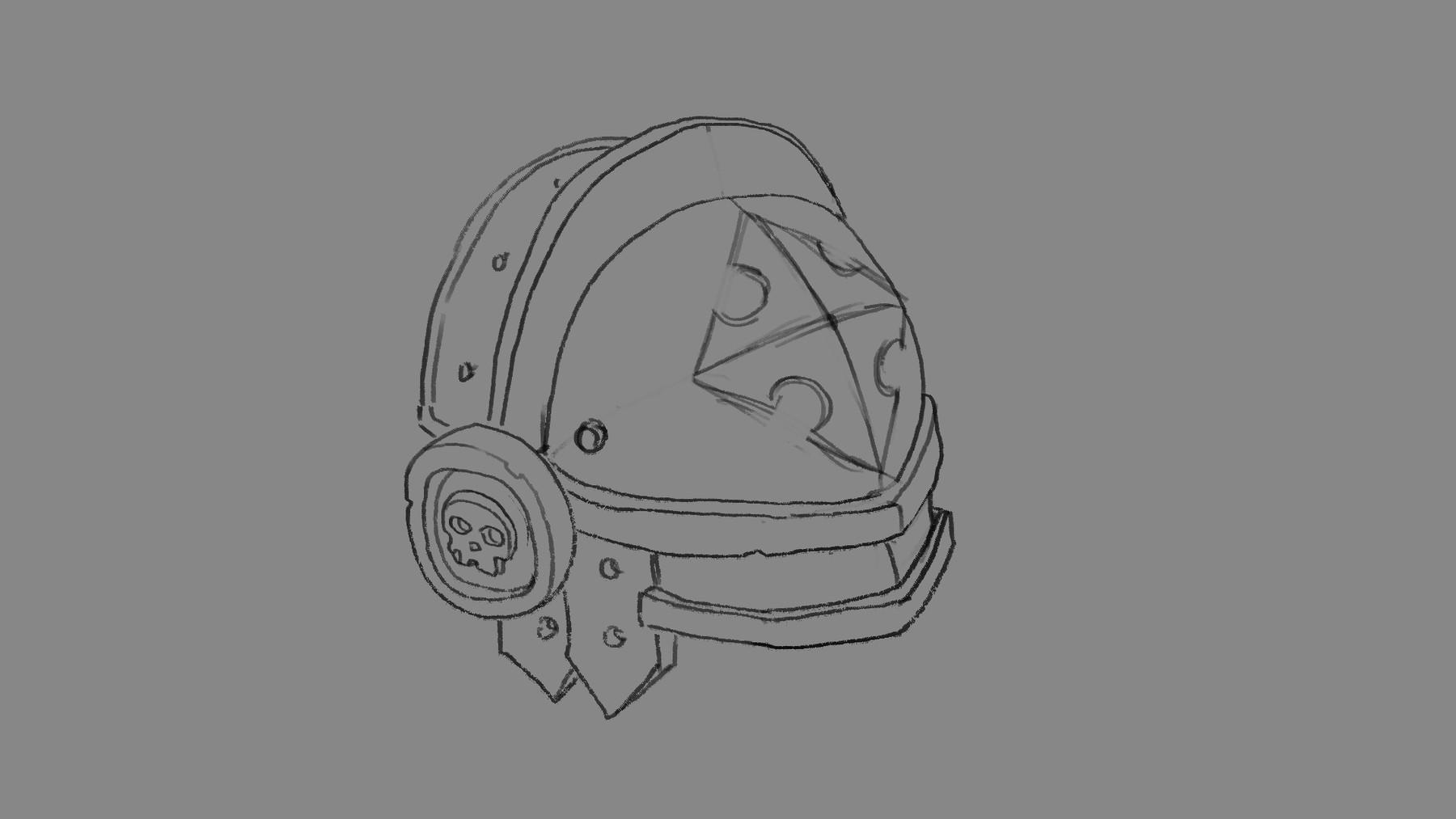 How to draw metal stepbystep 001